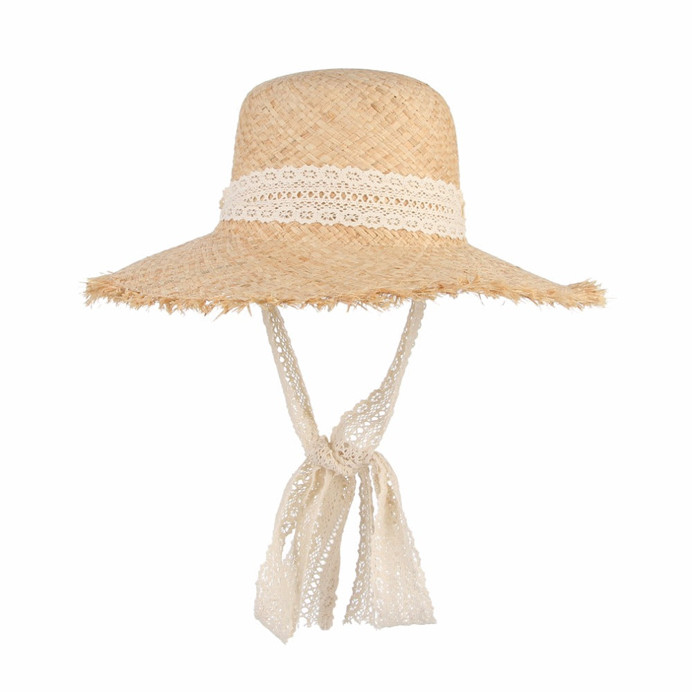91ae9d1c1 White Lace BOWKNOTS Summer Hat (FREE 📦SHIPPING) – The BOLD Treasures