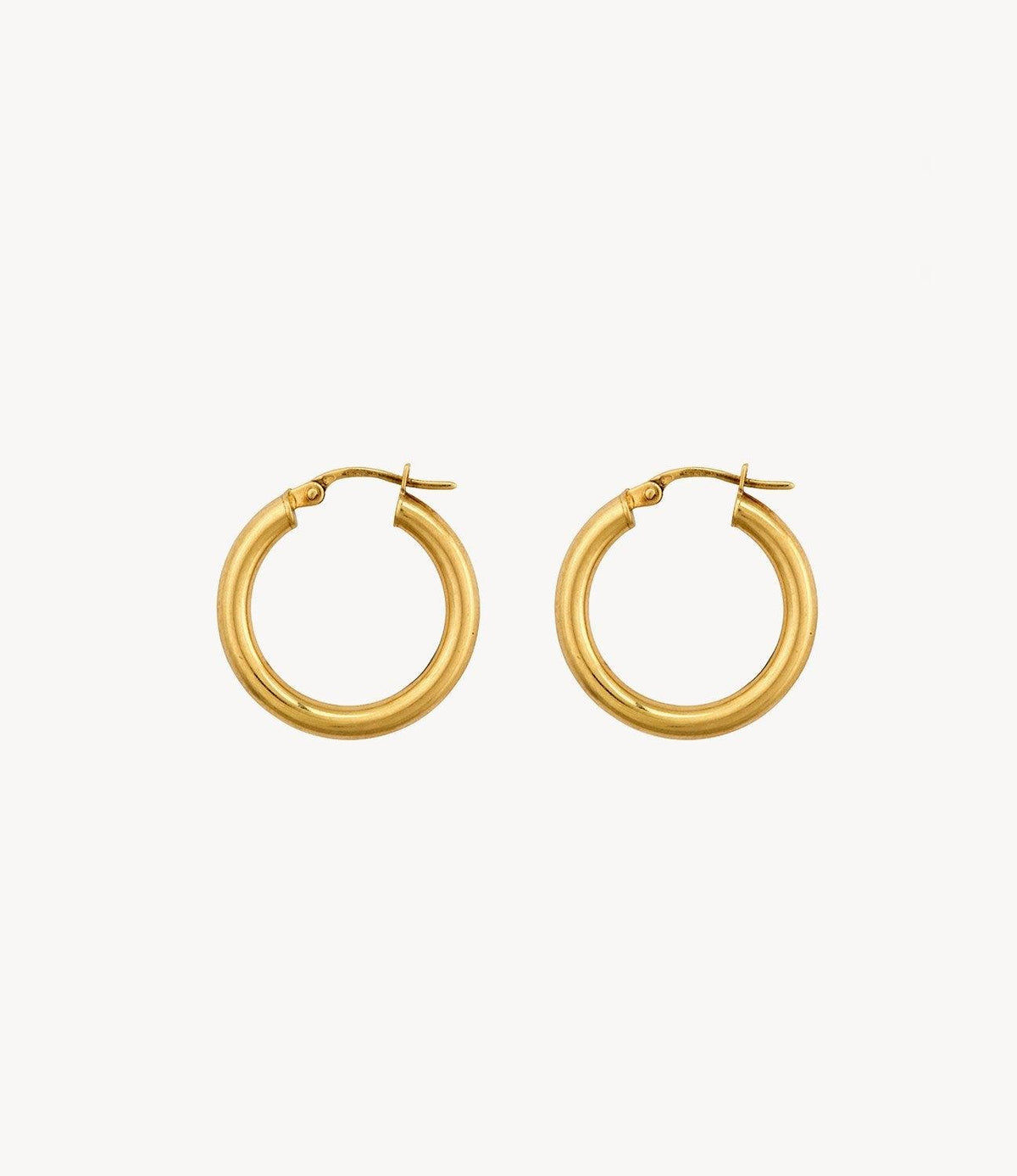 Smallest Slim Gold Hoops