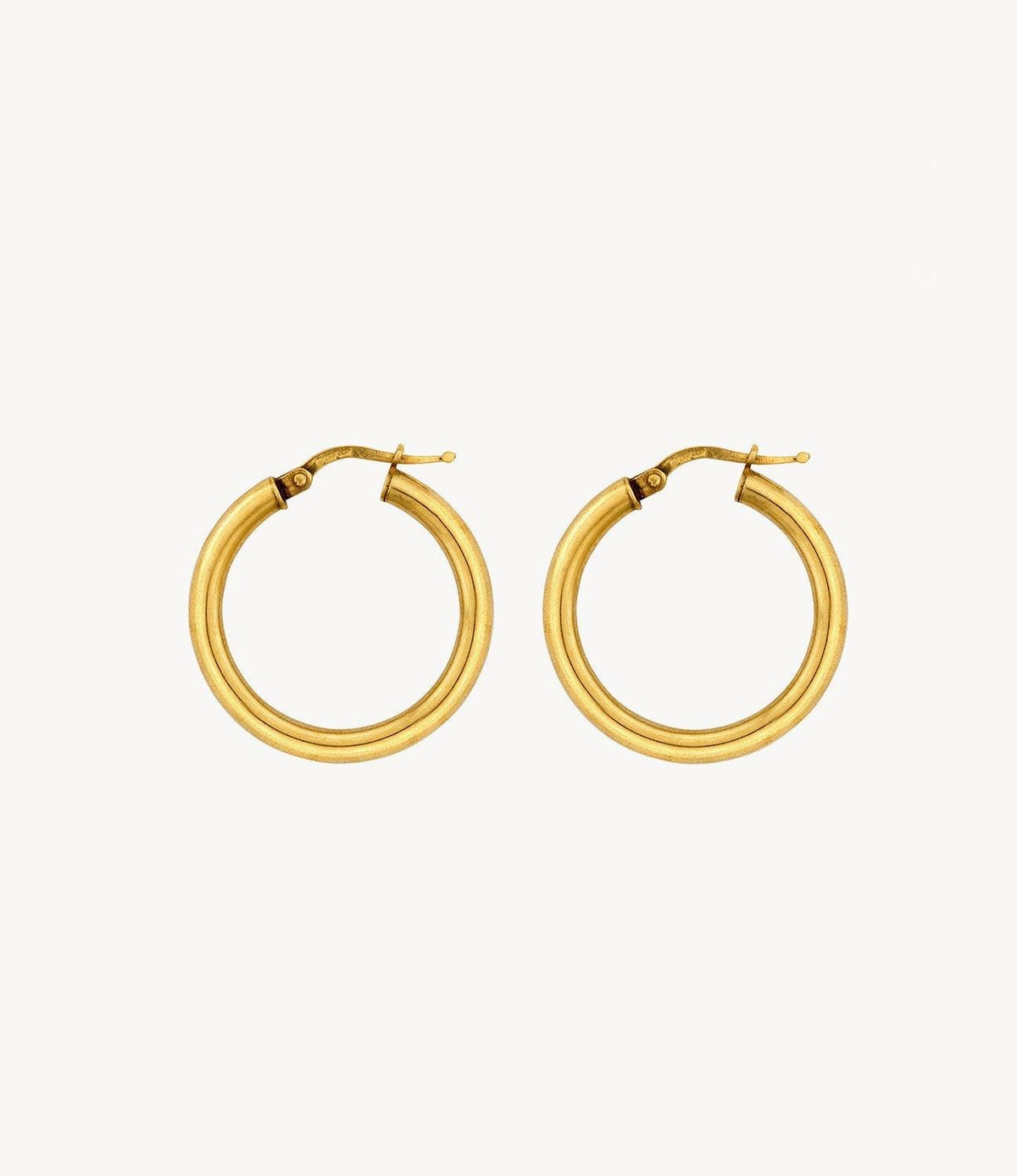 Small Slim Gold Hoops