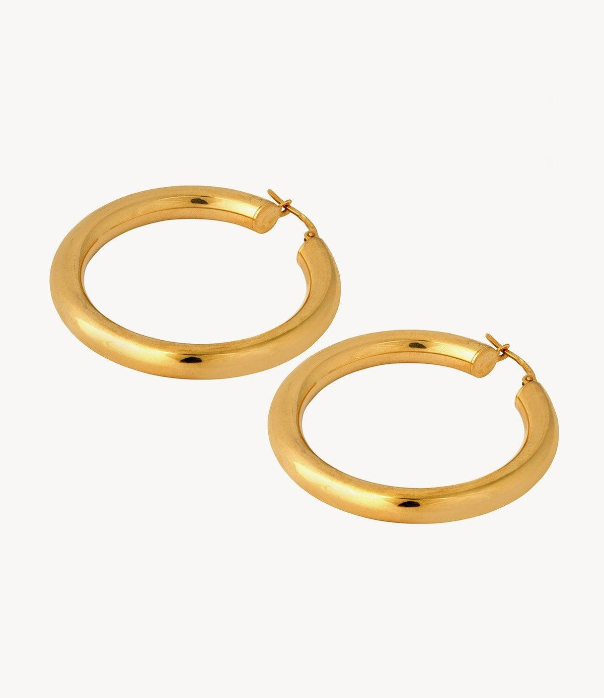 The Mila, Classic Gold Hoops