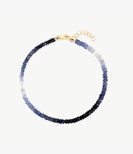 Load image into Gallery viewer, Blue Sapphire Beaded Bracelet