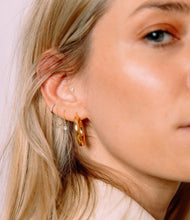 Load image into Gallery viewer, The Maggie, Drilled Diamond Drop Earring