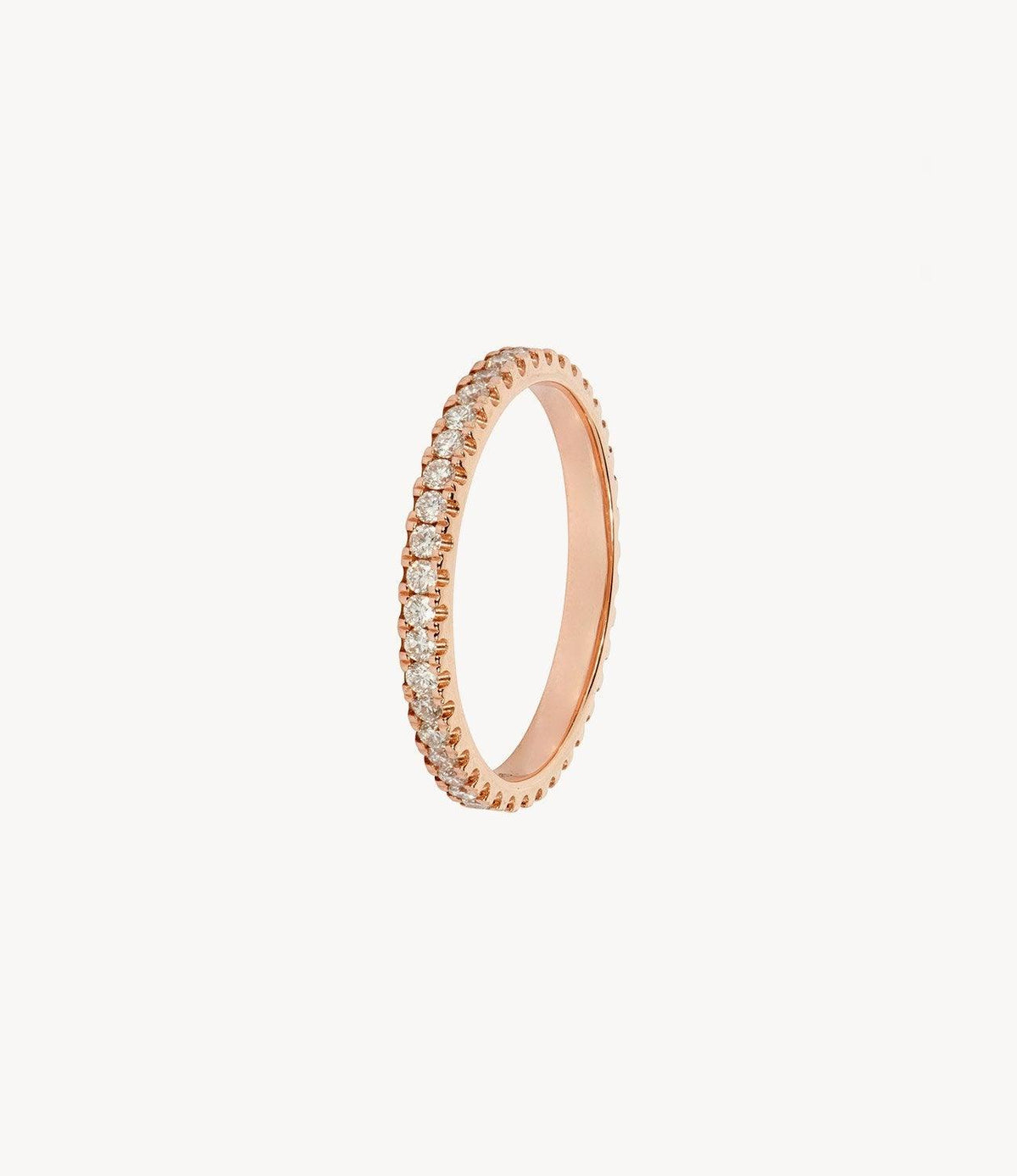 Rose Gold, Diamond Eternity Ring