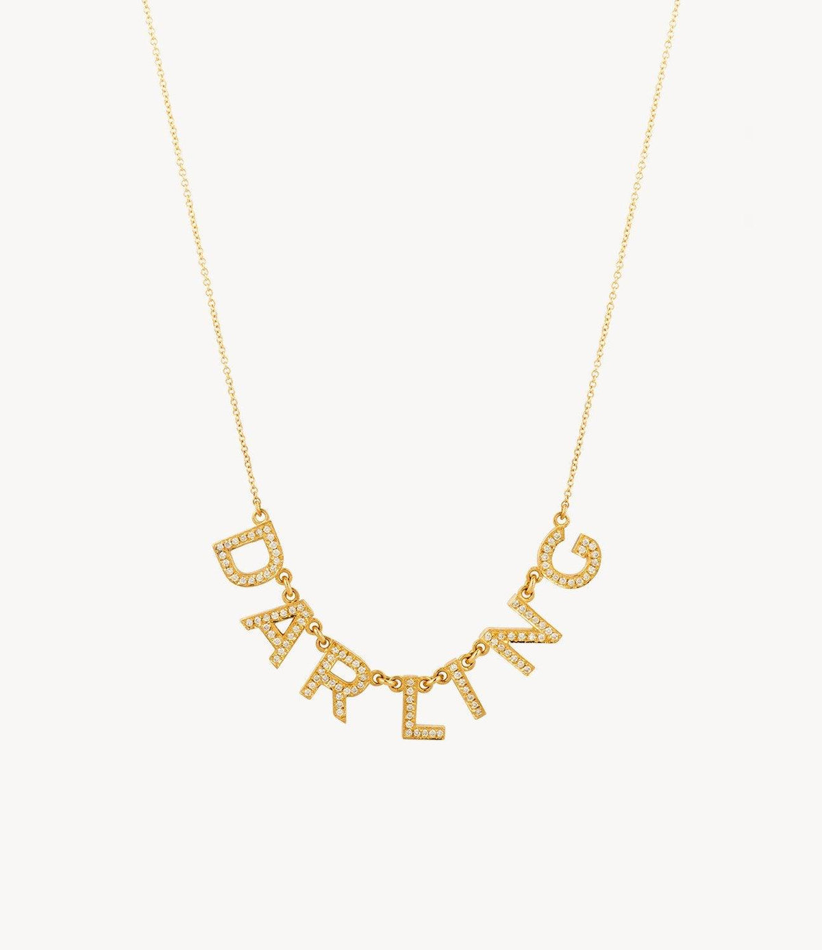 Oh Darling Diamond Necklace