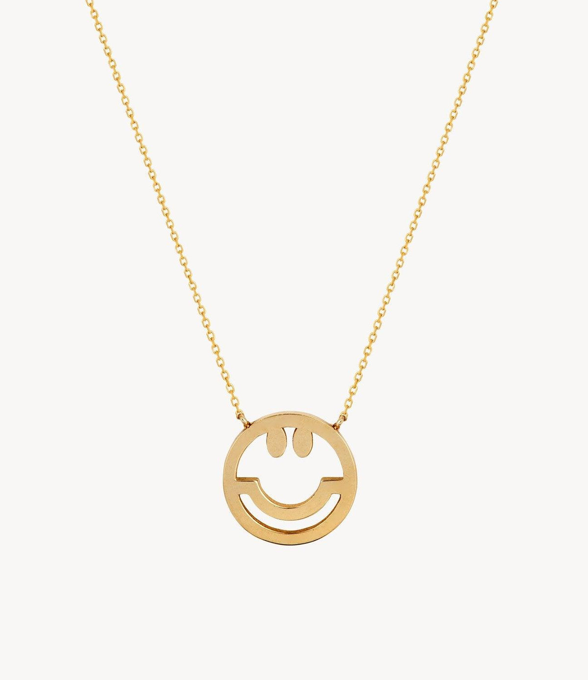 Gold, Have a Nice Day Necklace
