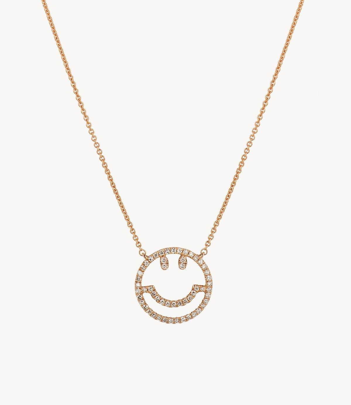 Have a Nice Day Diamond Necklace