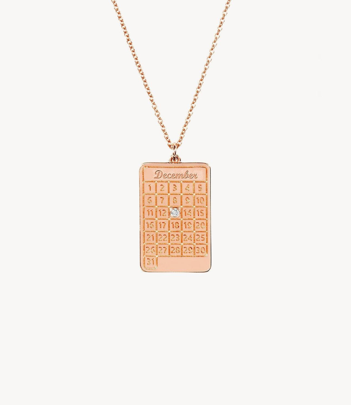 Rose Gold, Diamond Days Necklace