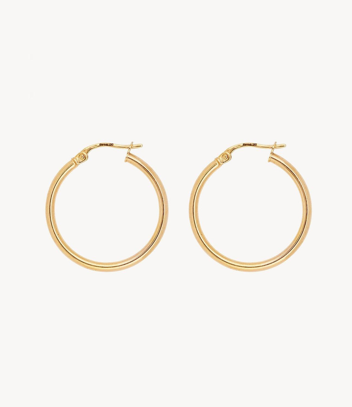 Small Spaghetti Gold Hoops