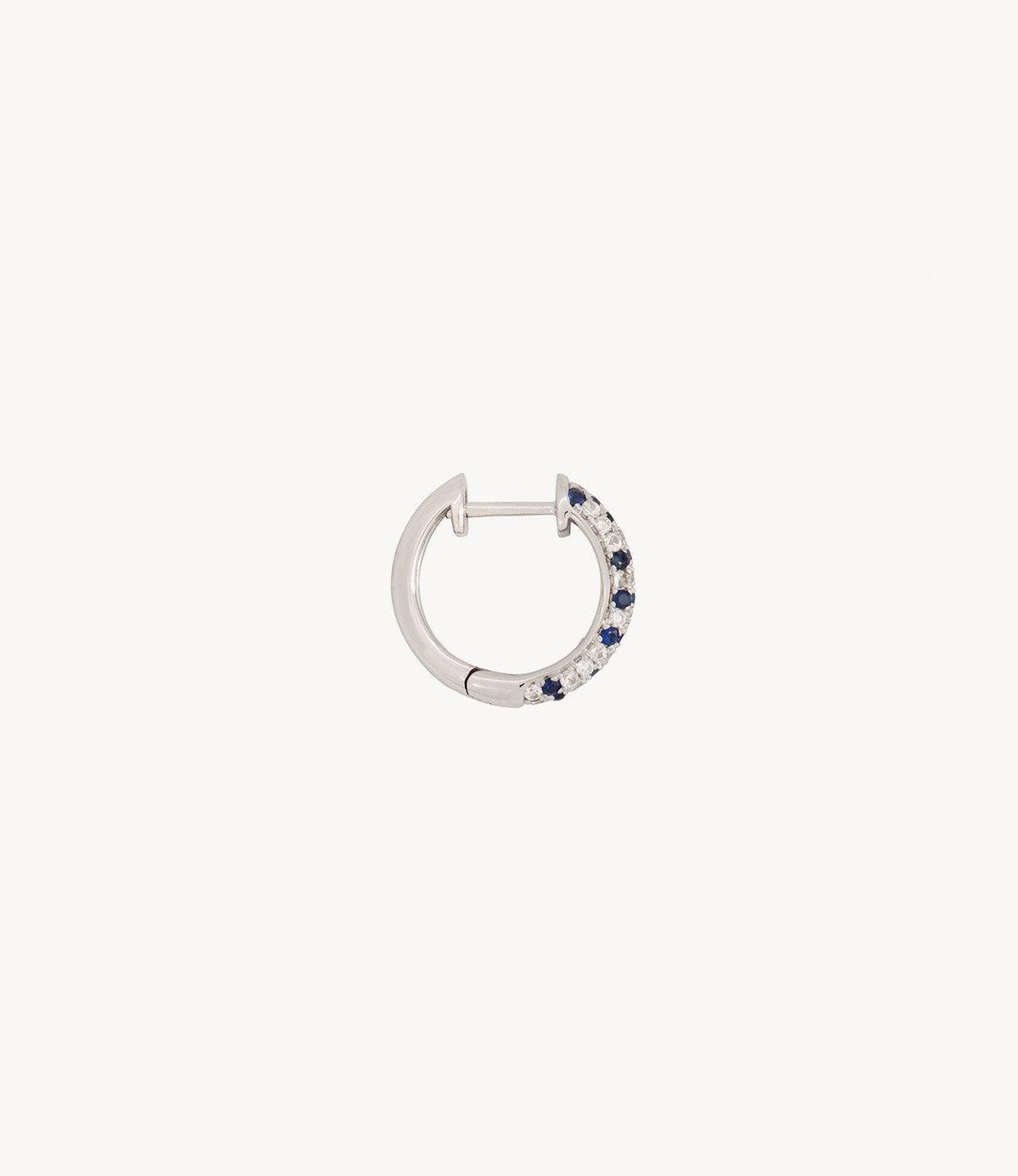 Blue Speckled Hoops