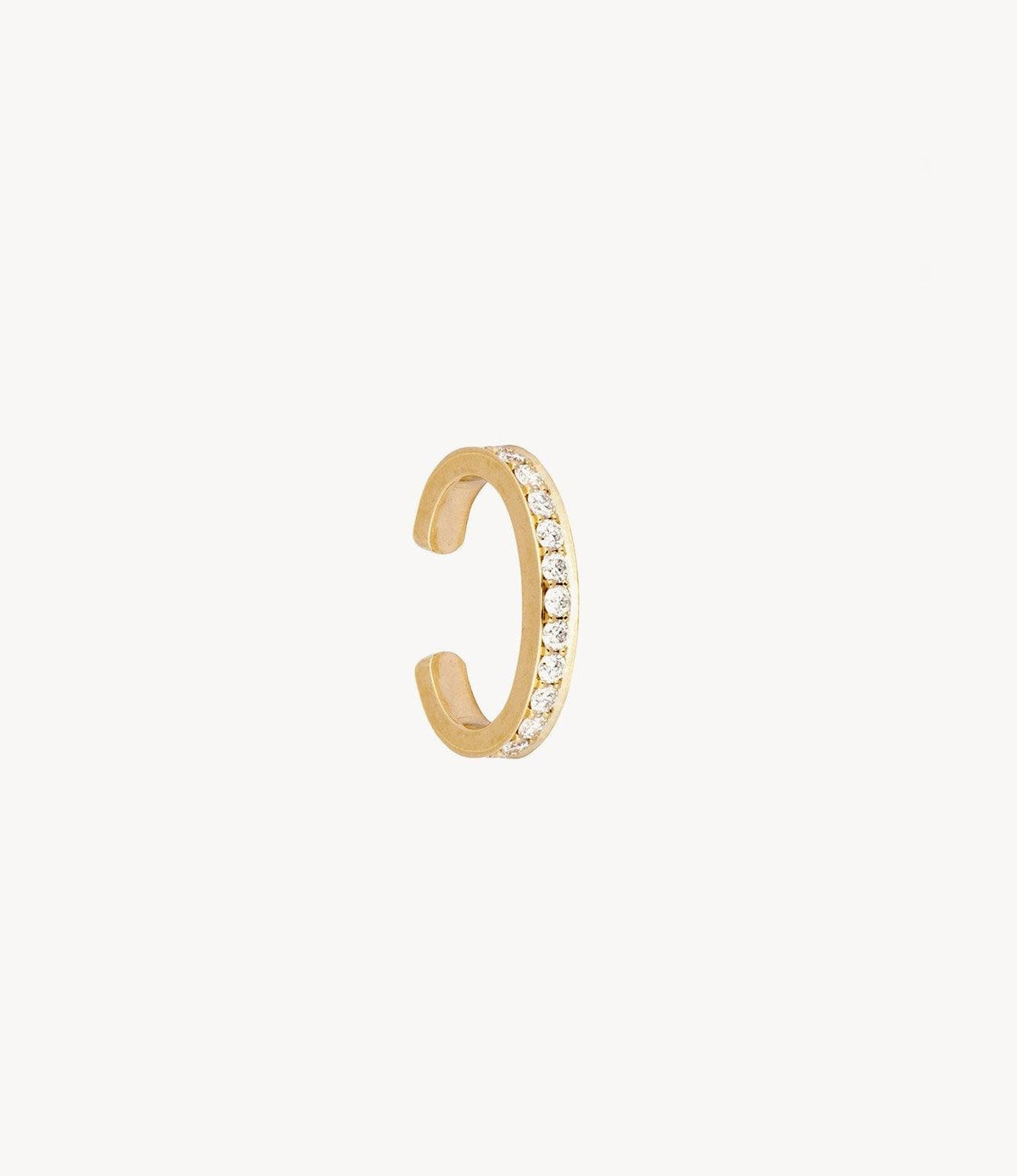 Single Diamond Row Cuff