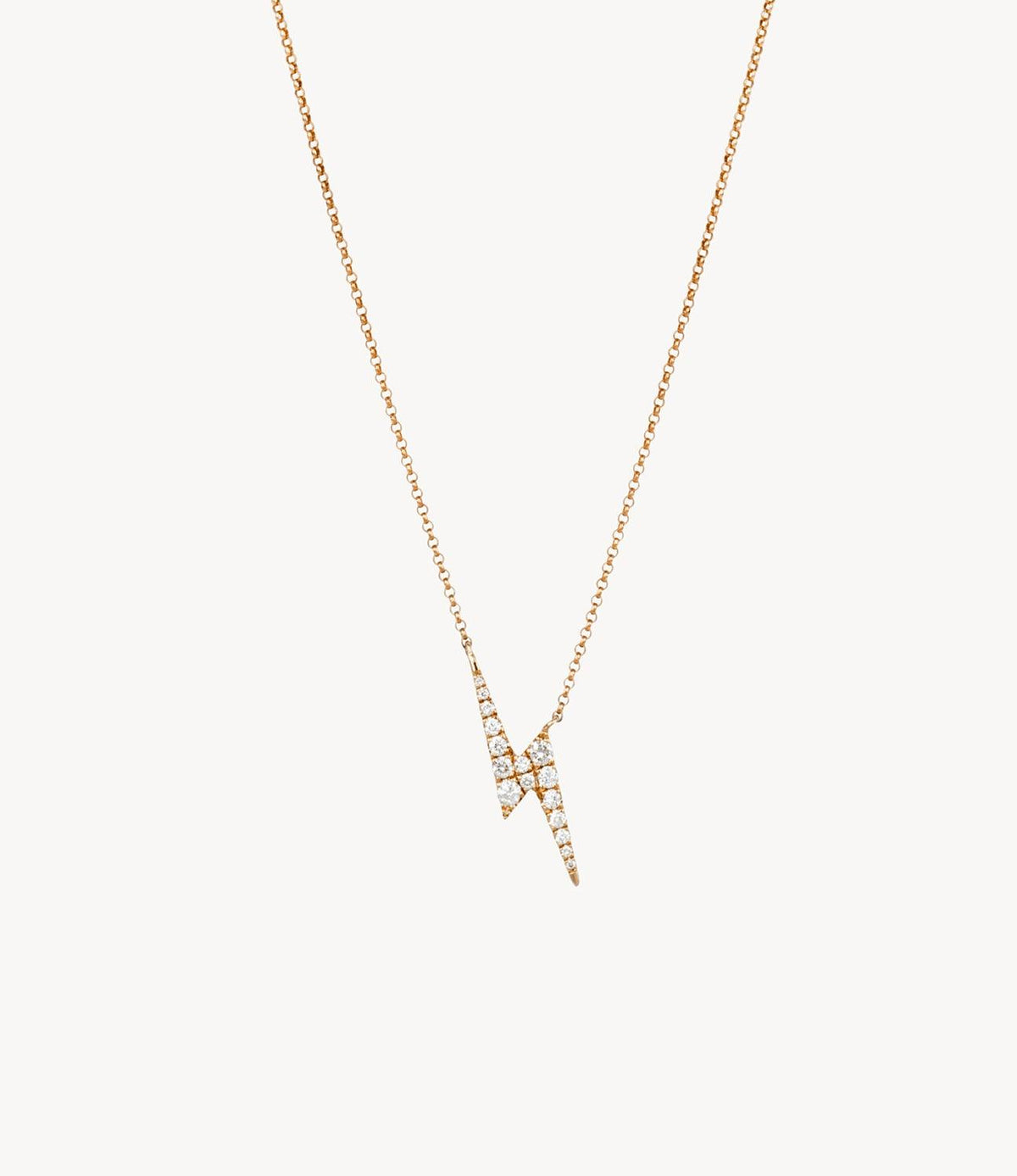 Harry's Diamond Lightning Bolt Necklace
