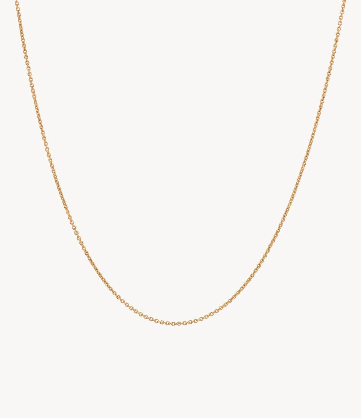 Rose Gold Thick Chain