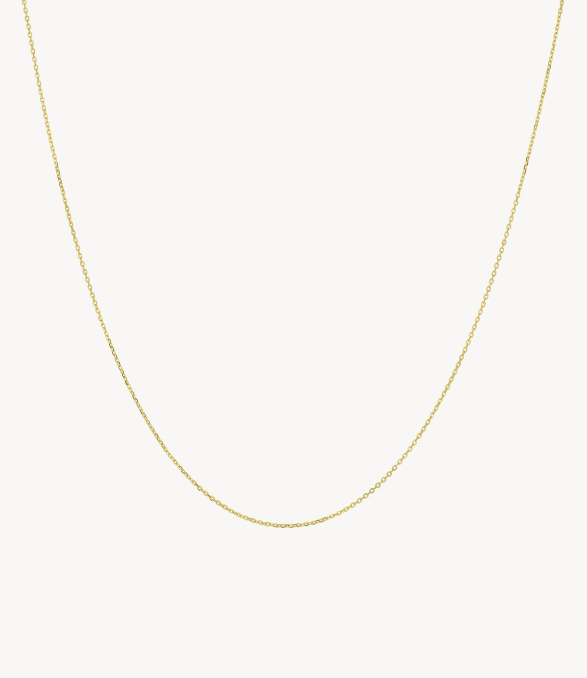 Yellow Gold, Thin Chain