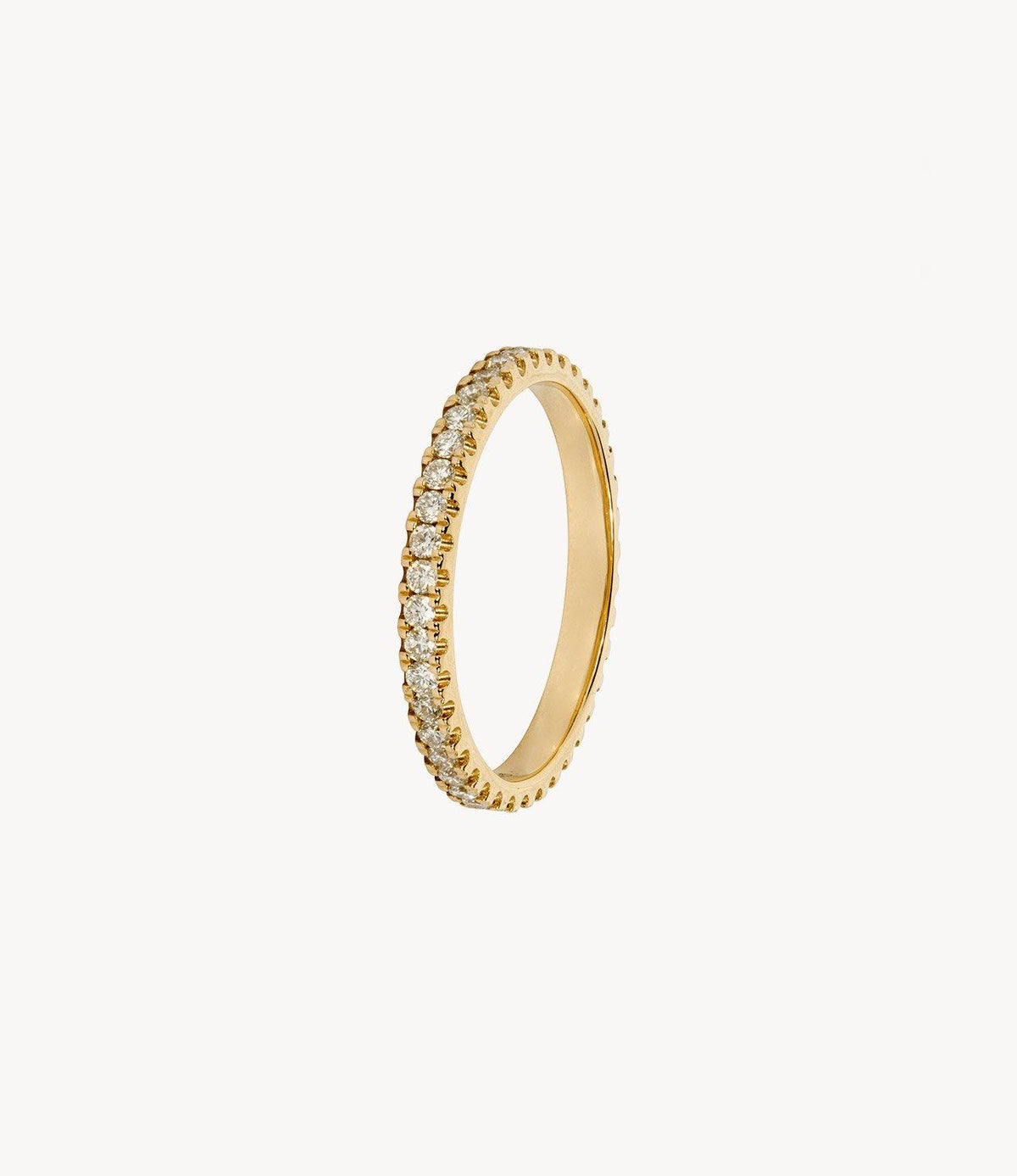 Yellow Gold, Diamond Eternity Ring