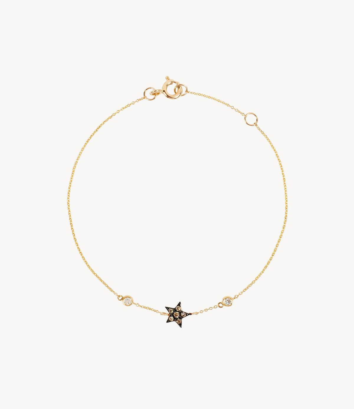 Louise's Mini Diamond Star Bracelet