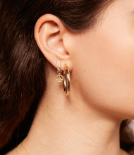 Load image into Gallery viewer, The Chloe, Everyday Gold Hoops
