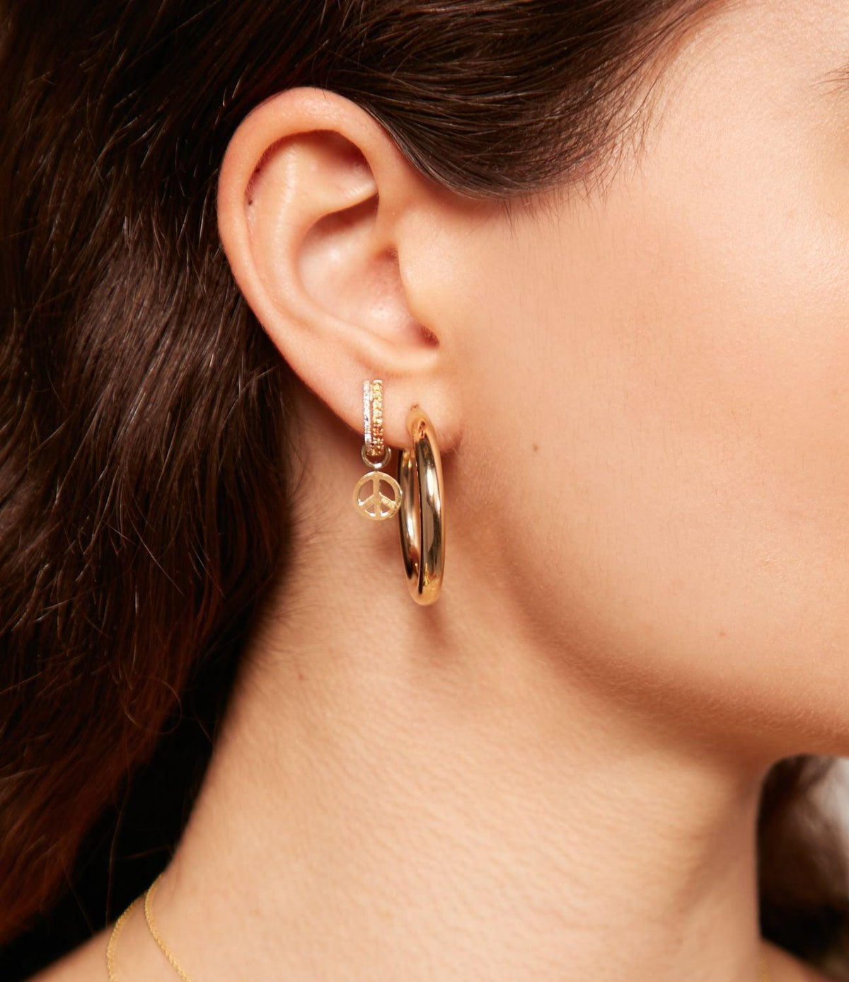 The Chloe, Everyday Gold Hoops