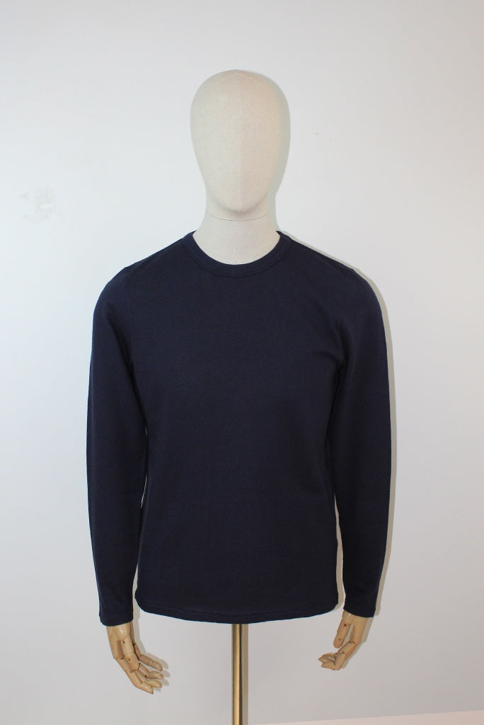 Les Basics Le Long Sleeve T-Shirt - Navy