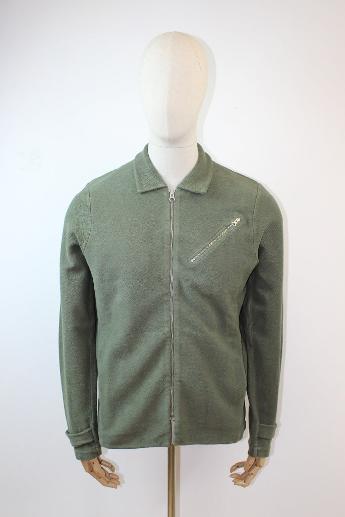 Les Basics Le Flight Jacket - Army Green