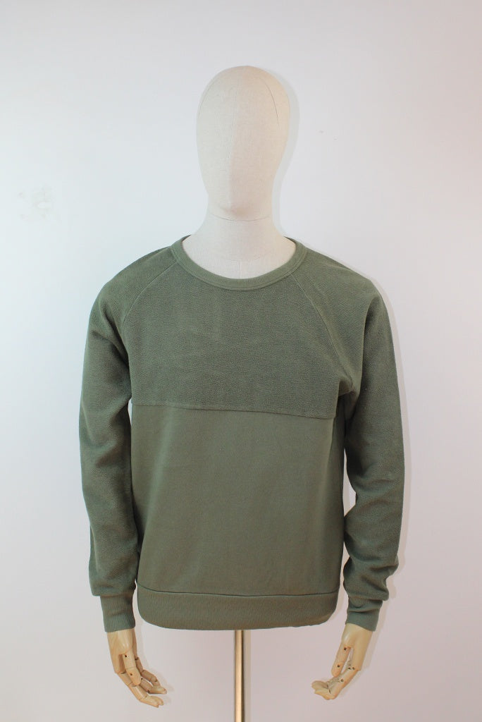Les Basics Le 50/50 Sweat - Army Green