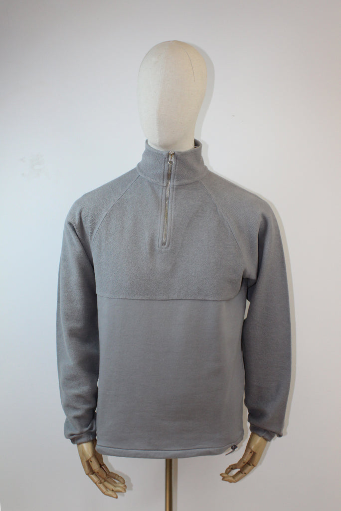 Les Basics Le Zip Sweat - Grey