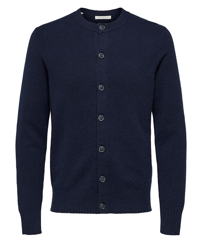 Selected Homme Bart Cardigan - Peacoat