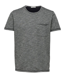 Selected Homme Dax T-Shirt - Light Grey