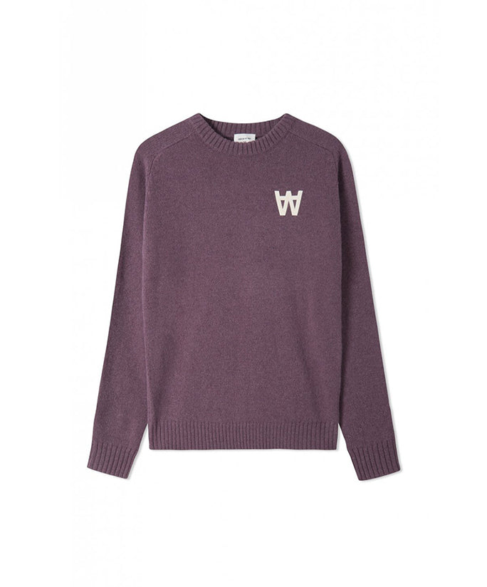 Wood Wood Kevin Sweater - Purple
