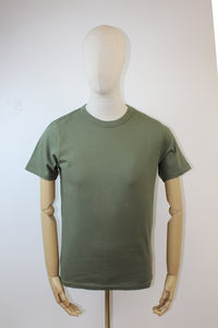 Les Basics Le Crew T-Shirt - Army Green