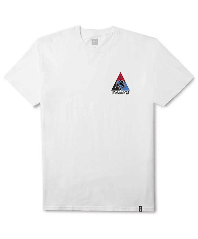 Huf World Cup Takeover T-Shirt - White