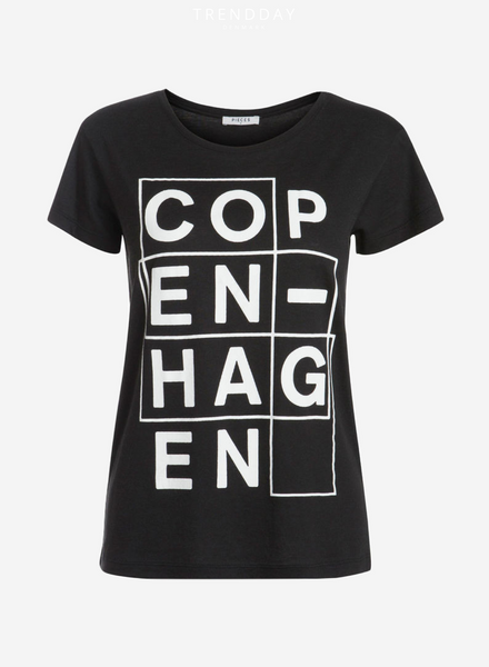 Copenhagen T-shirt Sort