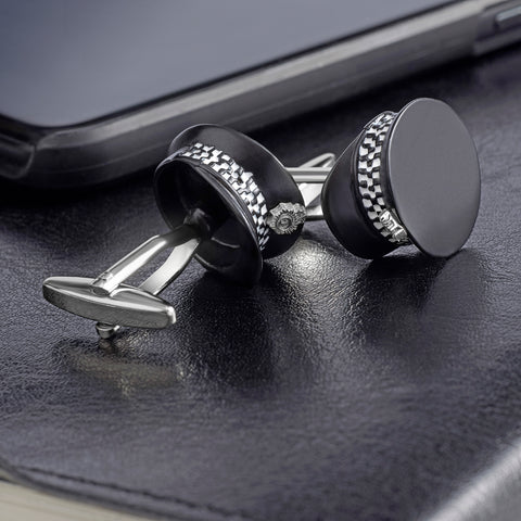 Police Officers Cap Cufflinks