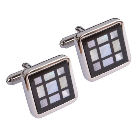 Mother of Pearl Squares Cufflinks