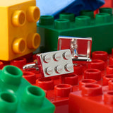 Rectangle Lego Brick Cufflinks