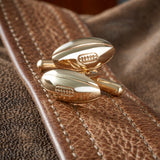 9ct Gold Rugby Ball Cufflinks