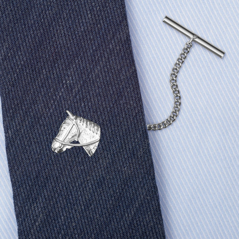 Sterling Silver Horse Tie Tack