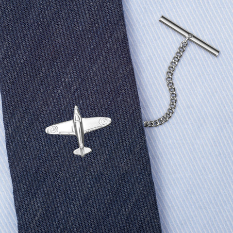Sterling Silver Spitfire Tie Tack