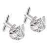 Sterling Silver Horse Head & Shoe Cufflinks