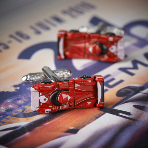 Le Mans Racing Car Cufflinks