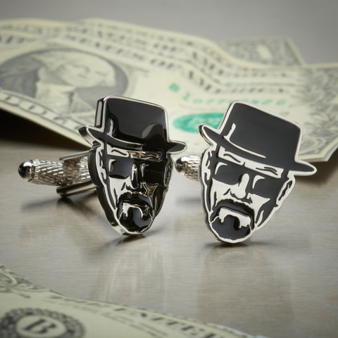 Breaking Bad Heisenberg Cufflinks