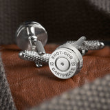 12 Gauge Shotgun Cartridge Cufflinks