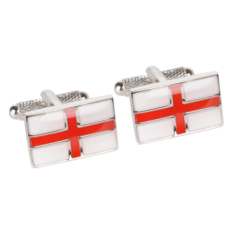 St Georges Cross Cufflinks