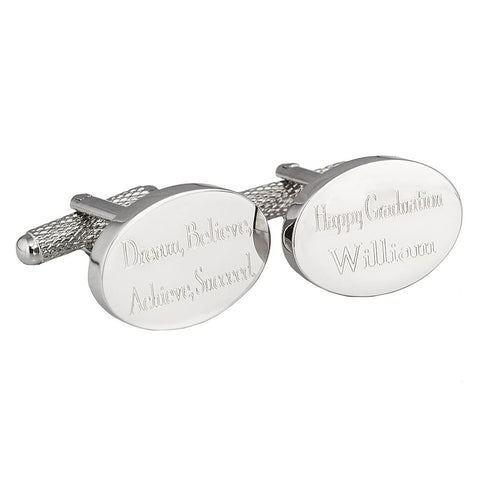 Graduation Cufflinks Engraved