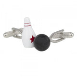 Bowling Ball and Pin Cufflinks