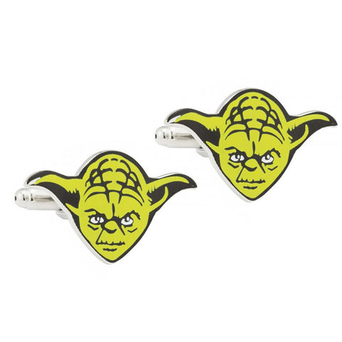 Yoda Star Wars Cufflinks