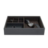 Stacker Charcoal Valet Box (Lid Included)