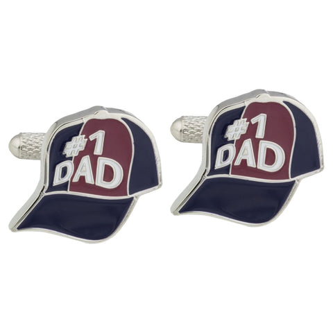 Dad Baseball Cap Cufflinks