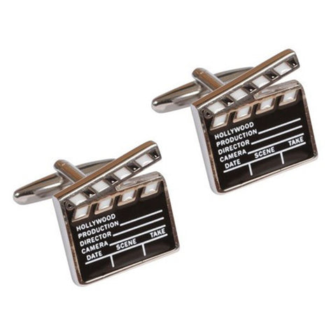 Film Clapper Board Cufflinks