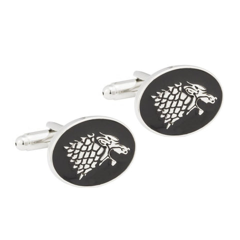 Game of Thrones Stark Cufflinks