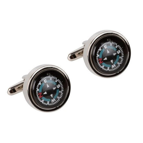 Novelty Compass Cufflinks